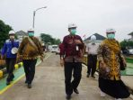 Tim Satgas Covid-19 Dumai berkunjung ke PT PT Andika Makmur Persada di Kabupaten Bogor, Jawa Barat. (Foto : Diskominfo Dumai)