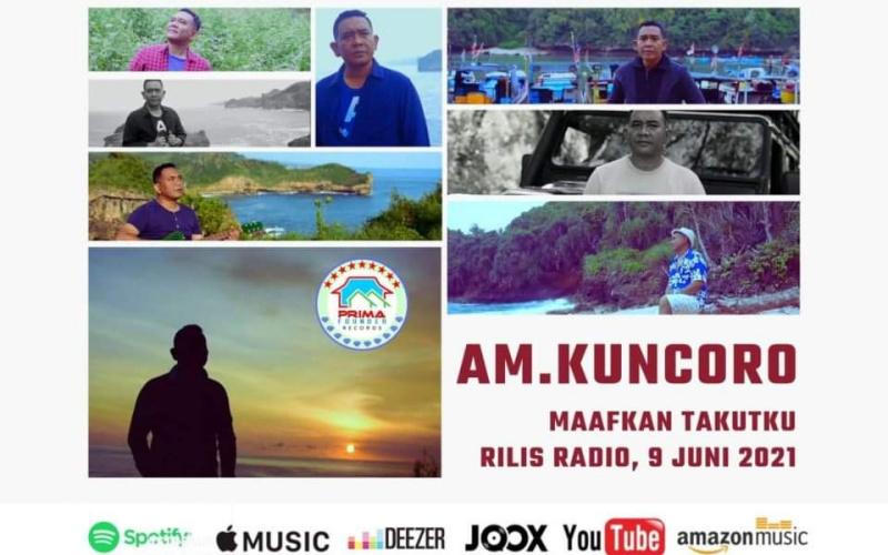 Flayer AM Kuncoro rilis lagu Maafkan Takutku. (Dok. Istimewa)