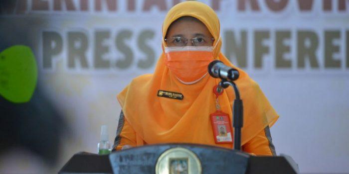 Kepala Dinas Kesehatan Riau, Mimi Yuliani Nazir. Foto : Mediacenter Riau