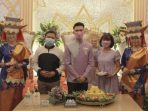 Uda Fe saat meluncurkan UF Enterprise - Decoration and Wedding Organizer pada Sabtu, 12 Juni 2021 di Jakarta. (Dok. Istimewa)