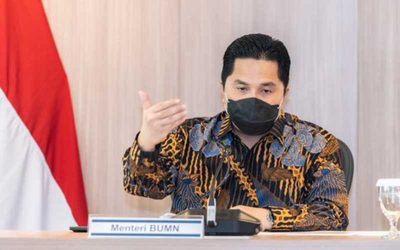 Menteri BUMN Erick Thohir. ©Humas BNPB
